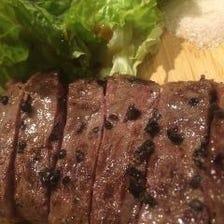 《贅沢コース》燻製5種盛りと黒毛和牛A4ランプステーキを堪能!2.5H飲み放題付 10品 5,000円