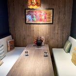 個室もありますので、ご家族連れにも最適。