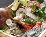 送られてくる魚や野菜によって毎日メニューが変わります。
