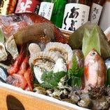 新鮮な朝採れ鮮魚が毎日入荷!