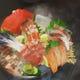 熟成魚お造り盛り合わせ~柑橘冷製スモーク~