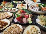 ボリューム満点こだわりのお鍋 宴会プランにが3500円~。