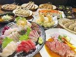 【当日OK!歓送迎会に!】豪華刺盛り、サーロイン、名物もつ煮込み等4400円コース!