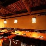 【1日1組限定】完全個室・ご宴会向けの座敷
