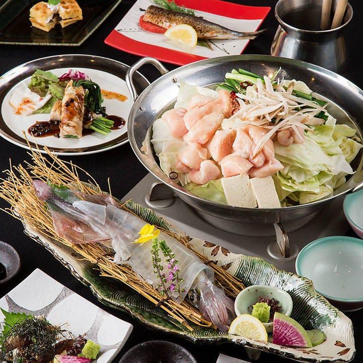 博多名物や九州を代表する食材の数々