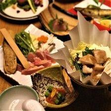 博多尽くし小鍋会席 ~ごま鯖・もつ鍋・水炊きなど博多の名物料理を個別にご提供~
