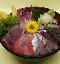 ネタが違う(^^♪地魚海鮮丼♪