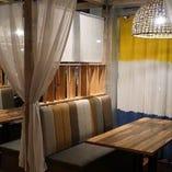 2名様~半個室や目の前に穏やかな海が広がるテラス席をご用意!