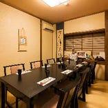 【接待・顔合わせなど特別な日に】完全個室~8名様までご利用可。