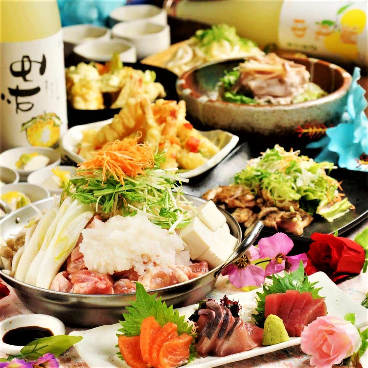 【囲特別コース】絶品の炙り肉寿司 ♪2h飲み放題付<全10品>6000円→5000円 (税別)
