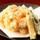 小海老のかき揚げ 揚げたてをぜひご賞味ください。