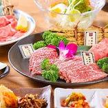 石垣牛と沖縄和牛の食べ比べができる贅沢な『特別コース』
