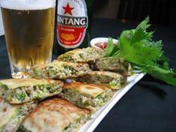 インドネシアの屋台の味 ★「マルタバ」ラム挽肉と卵の包み焼き
