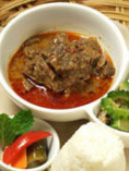 Beef RENDANG  レンダン・牛肉のスパイス煮込み
