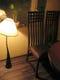 バリ製の家具とランプでゆったり出来ます