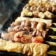 鮮度抜群の国産豚もつ焼き、青森産北王鶏の焼鳥