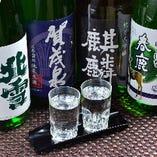 焼酎・日本酒など種類豊富に取り揃えております。