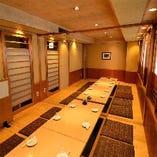 最大18名様までの個室も完備。宴会にも最適です♪