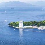 瀬戸内海を眺望できる広島のレストラン