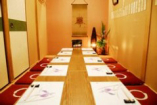 お座敷パーテーション設置 接待や各種宴会に最適です。