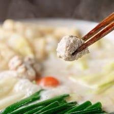 120分飲み放題付【鍋コース】鶏もものたたき風/ゴロゴロ炭火焼き/炙り鶏しゃぶ・水炊き 6,600円