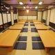 大人数の会社の宴会など個室・座敷は最大56名様まで可。