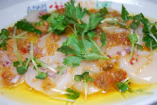 帆立貝のタイ風カルパッチョ
