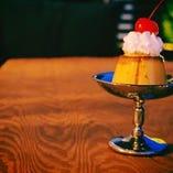味宝卵の喫茶プリン