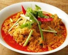 プーニムポンカレー Stir fried soft shell crab with egg&curry sauce