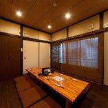2階:座敷個室(6~12名様)