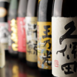 日本酒・地酒 味わい勝負の品揃え