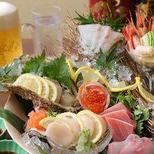 鮮魚のお造り盛り