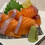 厳選旬魚を使用した「お造り」もご用意しております