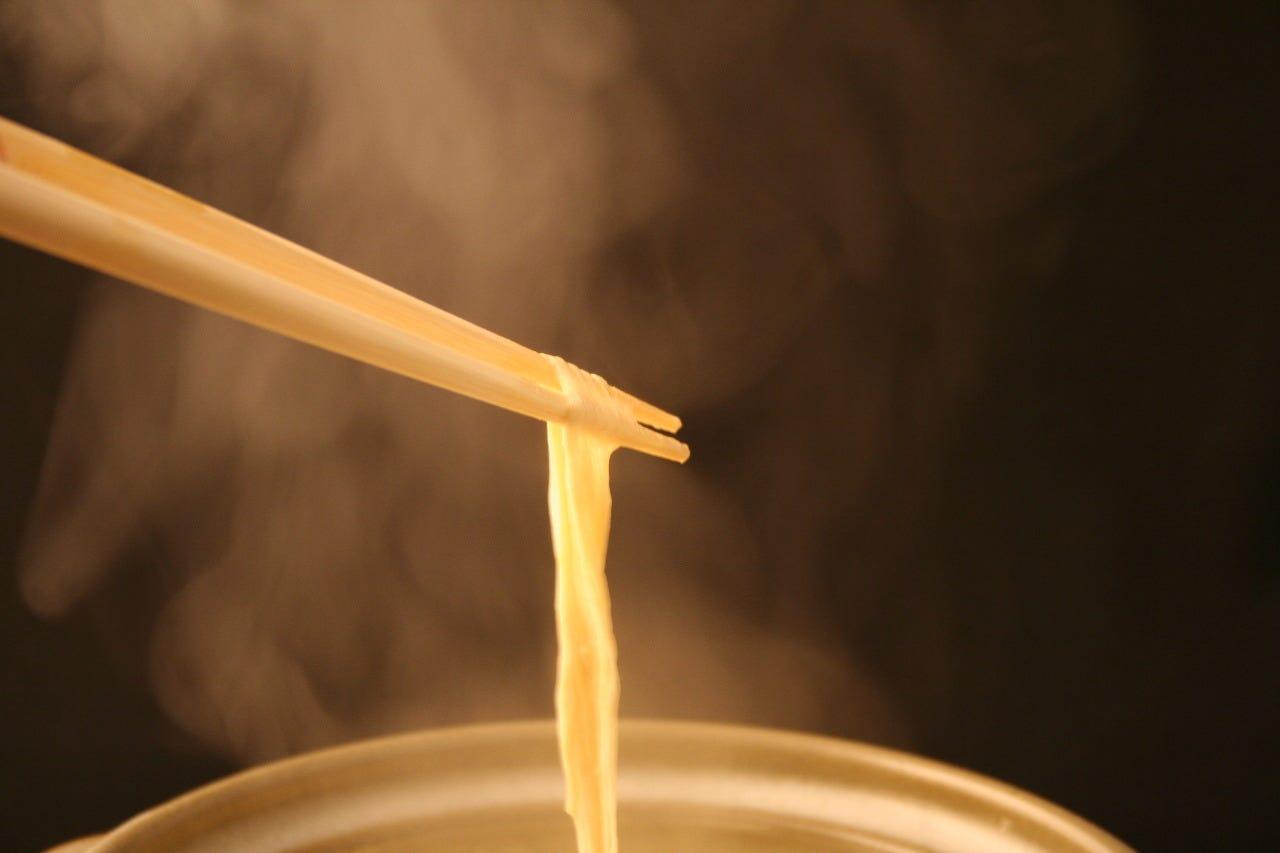 温泉豆富の楽しみ方はお好みで! 湯葉を引いて召し上がる事も◎