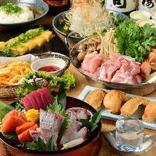 海鮮、鶏肉、高級豚!選べる3種の鍋