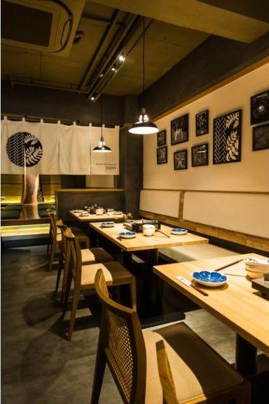 水炊き 吟醸もつ鍋 由乃 栄店 店内の画像