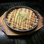 つくね芋の鉄板焼き