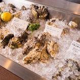 北は北海道、南は九州から厳選した牡蠣を仕入れ