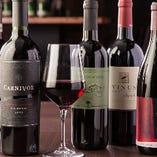 世界各国から選りすぐりのワインを取り揃えております♪