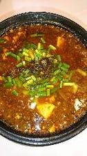 鉄鍋麻婆豆腐