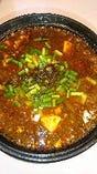 山椒のきいた麻婆鍋