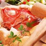 昼網鮮魚の塩釜焼き【淡路島】