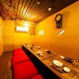 プライベート宴会を開催できる座敷個室