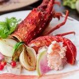 伊勢海老を食べられるコースがリーズナブル
