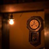 レトロな時計にもご注目★