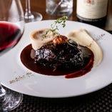― Menu Dîner ― お料理とワインの繊細なマリアージュを堪能