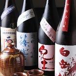旬のオススメ日本酒に関しての種類はスタッフにお尋ねください♪