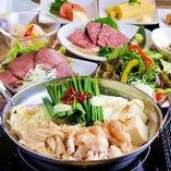 九州料理専門店・なべ音自慢の料理を楽しめるフルコース