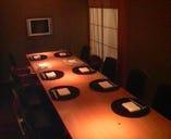 囲炉裏やDVD観賞も出来る落ち着いた個室!室料無料で2~16名様迄ご利用可能です