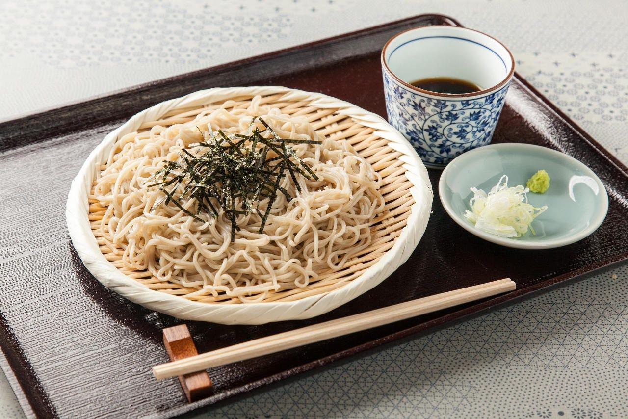 蕎麦・かえしは拘りの自家製を使用!